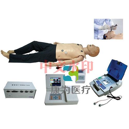 """""""亚博体育网页版登陆医疗""""高级多功能急救训练标准化模拟病人(心肺复苏CPR、气管插管、除颤起搏四合一功能、嵌入式系统)"""