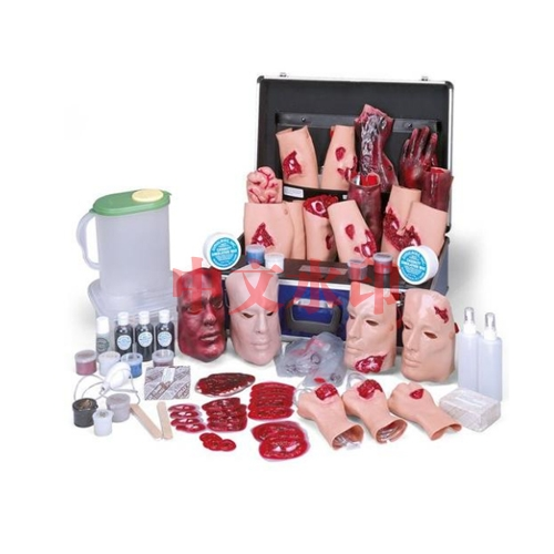 德国3B Scientific®伤亡模拟工具包IV