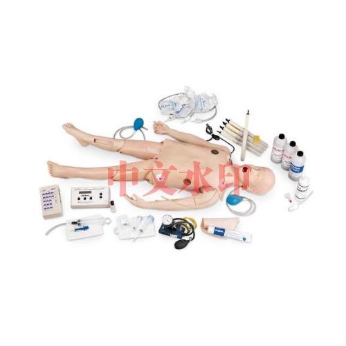 Life/form® 豪华型儿童 CRiSis™ 人体模型,带ECG模拟装置