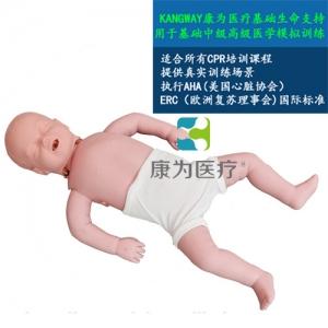 """""""yzc亚洲城 唯一 官网医疗""""婴儿心肺复苏标准化模拟病人(基础型)"""