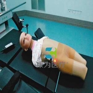 """""""yzc亚洲城 唯一 官网医疗""""高级小儿颈部及股部动脉静脉穿刺训练模型"""