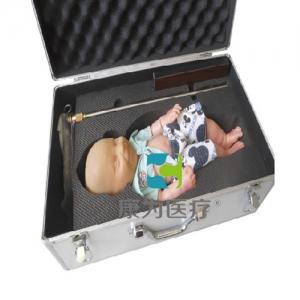 """""""yzc亚洲城 唯一 官网医疗""""内置血液循环系高级智能婴儿头皮静脉输液练习模型"""