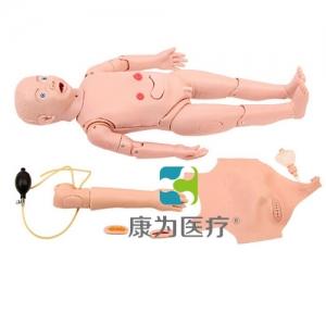 """""""yzc亚洲城 唯一 官网医疗""""全功能三岁儿童护理标准化模拟病人"""