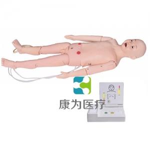 """""""亚博体育网页版登陆医疗""""全功能五岁儿童高级标准化模拟病人(护理、CPR、听诊三合一)"""