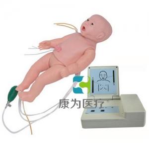 """""""亚博体育网页版登陆医疗""""全功能婴儿高级标准化模拟病人(护理、CPR、听诊、除颤起博、心电监护五合一)"""