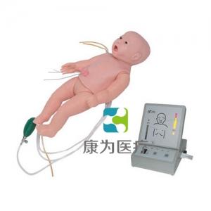 """""""康为医疗""""全功能新生儿高级标准化模拟病人(护理、CPR、听诊、除颤起博、心电监护五合一)"""