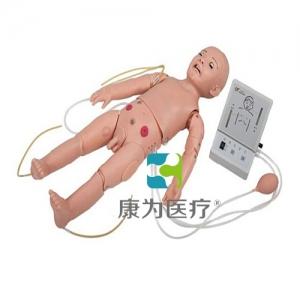 """""""亚博体育网页版登陆医疗""""全功能一岁儿童高级标准化模拟病人(护理、CPR、听诊、除颤起博、心电监护五合一)"""