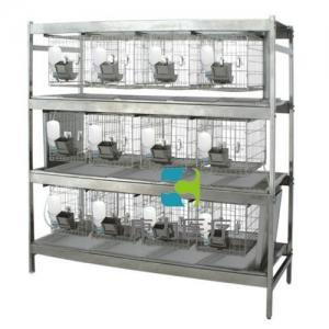 """""""亚博体育网页版登陆医疗""""不锈钢干养式实验兔笼(3层×4=12笼)"""