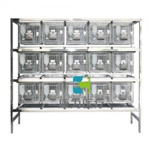 """""""亚博体育网页版登陆医疗""""不锈钢干养式实验兔笼(3层×5=15笼)"""