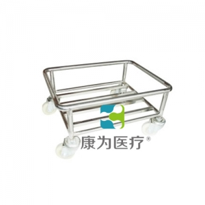 """""""亚博体育网页版登陆医疗""""塑料盒运输车(无柄)"""