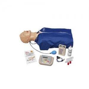 """德国3B Scientific®高级""""Airway Larry""""气道管理躯干亚博体育官方版,具有除颤特征、ECG模拟和 AED训练功能"""