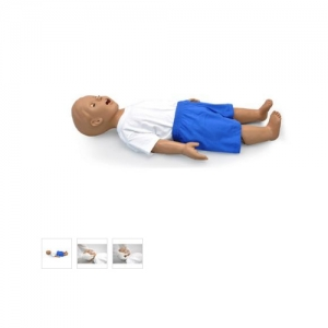 德国3B Scientific®1岁幼儿CPR练习和创伤治疗模拟亚博体育官方版(1岁)